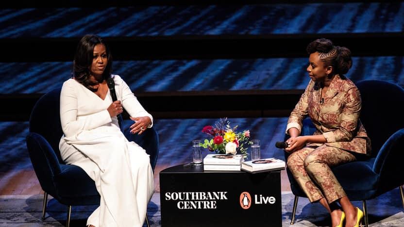Chimamanda Ngozi Adichie et Michelle Obama