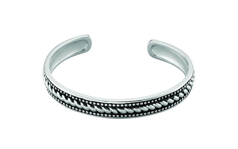 HDO - Bracelet Jonc Matthias Argent Blanc - FABHBWN0010 - 249€2